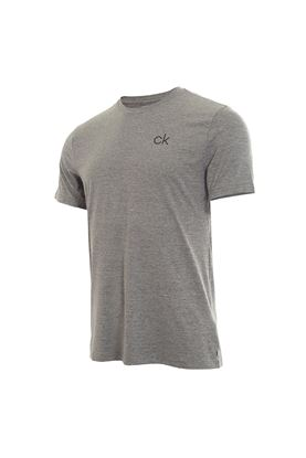Show details for Calvin Klein Men's Newport Short Sleeve T-Shirt - Silver