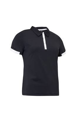 Show details for Abacus Ladies Cherry Polo Shirt - Black