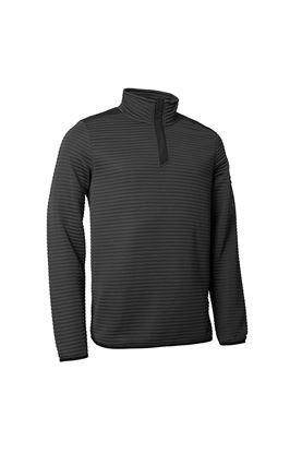Show details for Abacus Men's Buddock Half Zip Fleece - Dark Grey Melange