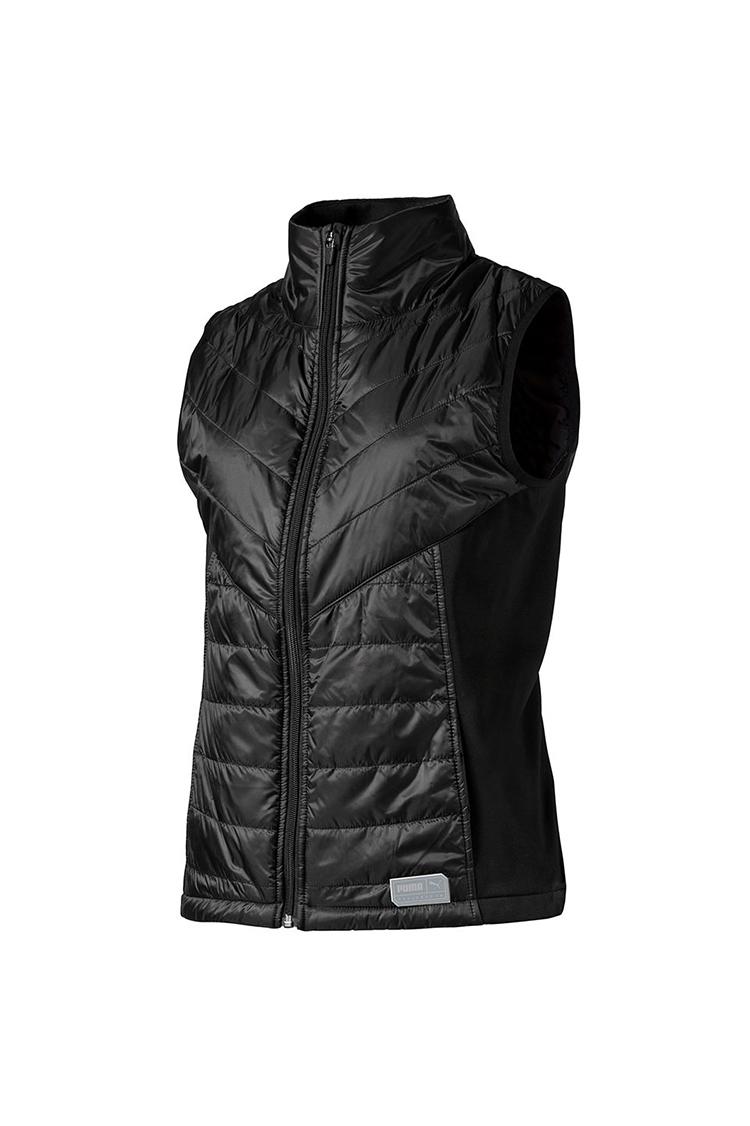 Picture of Puma Golf Women's Quilted Primaloft Vest / Gilet - Puma Black
