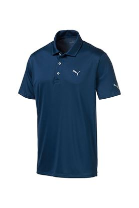 Show details for Puma Golf Men's Rotation Polo Shirt - Gibralter Sea