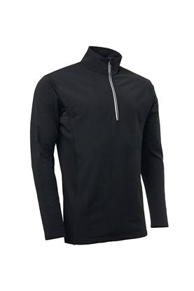 Show details for Abacus Men's Ashby Half Zip Top - Black