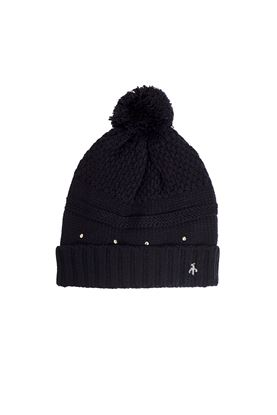 Show details for Green Lamb Ladies Inge Fleece Lined Beanie - Black