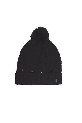 Show details for Green Lamb Ladies Inge Fleece Lined Beanie - Navy