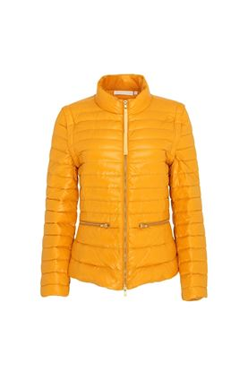 Show details for Swing out Sister Ladies Eloise Water Repellant Jacket / Gilet - Mellow Gold