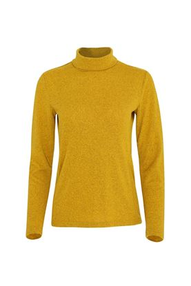 Show details for Swing out Sister Ladies Grace Roll Neck Baselayer - Mellow Gold