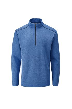 Show details for Ping Men's Ramsey 1/4 Zip Sweater - Snorkel Blue Marl