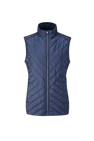 Picture of Ping Golf Ladies Oslo Primaloft Vest III - Oxford Blue
