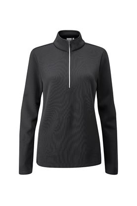 Show details for Ping Ladies Lyla Half Zip Fleece Golf Top - Black