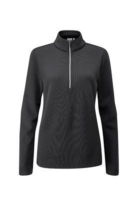 Show details for Ping Ladies Lyla Half Zip Fleece Golf Top - Black