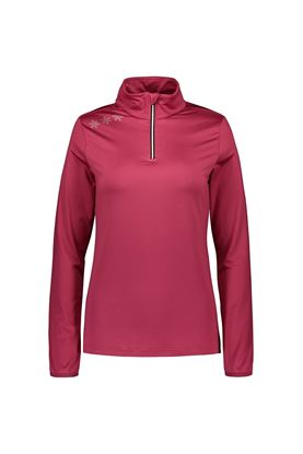 Show details for Catmandoo Ladies Slona 1/2 Zip Midlayer Top - Pink