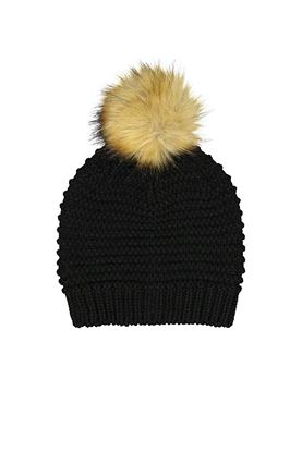 Show details for Catmandoo Ladies Ilo Reverse Knit Beanie - Black