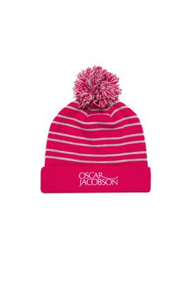 Show details for Oscar Jacobson Men's Thor Bobble Hat - Red 622
