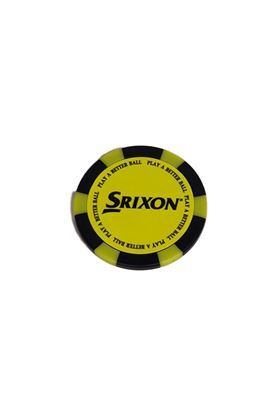 Show details for Srixon Poker Chip Ball Marker - Yellow / Black