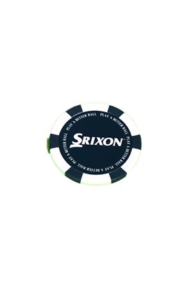 Show details for Srixon Poker Chip Ball Marker - White / Blue