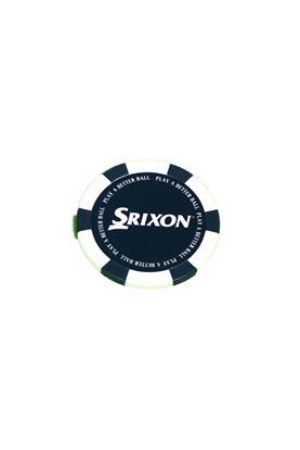 Show details for Srixon Poker Chip Ball Marker - White / Blue