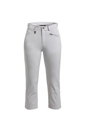 Show details for Rohnisch Ladies Comfort Stretch Capri - Silver Gray