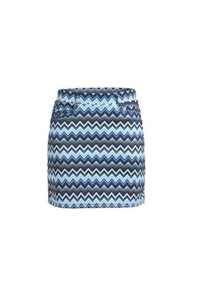 Show details for Rohnisch Ladies Move Skort - Zigzag Blue