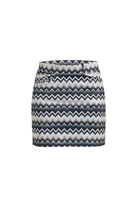 Show details for Rohnisch Ladies Move Skort - Zigzag Sand