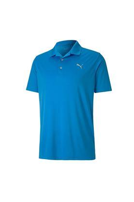 Show details for Puma Golf Men's Rotation Polo Shirt - Ibiza Blue