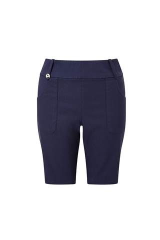 Picture of Callaway Ladies Chev Pull on Shorts - Peacoat