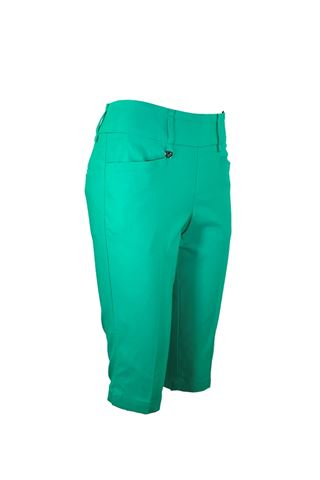 Picture of Callaway Ladies Chev Pull On City Shorts - Golf Green