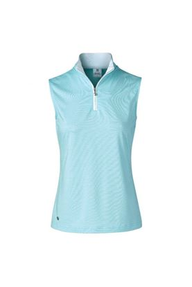 Show details for Daily Sports Ladies Beata Sleeveless Polo Shirt - Azul 653