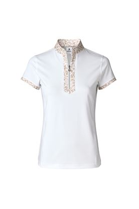 Show details for Daily Sports Ladies Nova Short Sleeve Polo Shirt - White 100