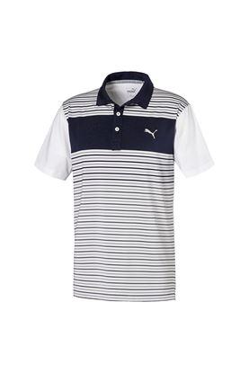 Show details for Puma Golf Men's Floodlight Polo Shirt - Peacoat