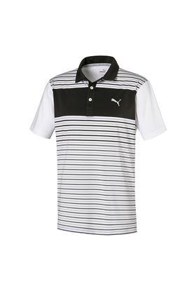 Show details for Puma Golf Men's Floodlight Polo Shirt - Puma Black