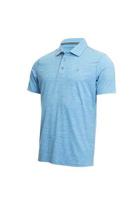 Show details for Calvin Klein Men's Newport Polo Shirt - Azure Blue
