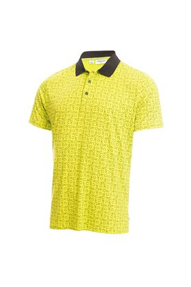 Show details for Calvin Klein Men's Geo CK Polo Shirt - Lime