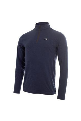 Picture of Calvin Klein Men's Newport Premium 1/2 Zip Top - Navy Marl