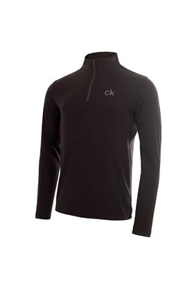 Show details for Calvin Klein Men's Newport Premium 1/2 Zip Top - Black
