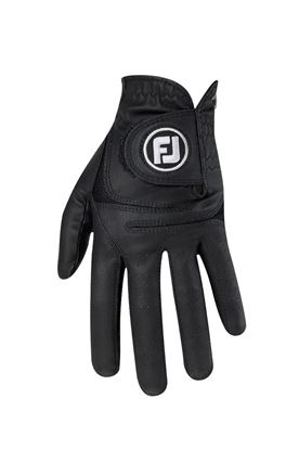 Show details for Footjoy Men's WeatherSof Golf Gloves - Black / Black