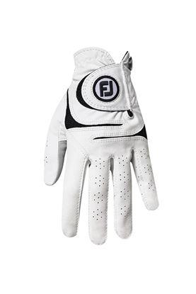 Show details for Footjoy Men's WeatherSof Golf Gloves - White / Black