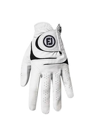 Picture of Footjoy Men's WeatherSof Golf Gloves - White / Black