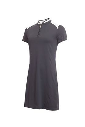 Show details for Green Lamb Ladies Edith Dress - Navy / White