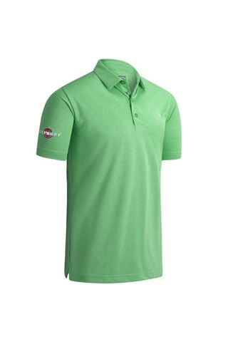 Picture of Callaway ZNS Odyssey Birdseye Polo Shirt - Light Green Heather