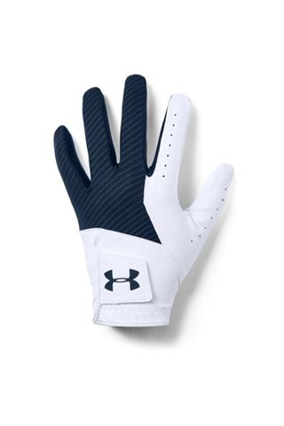 Picture of Under Armour UA Medal Golf Glove - White / Navy