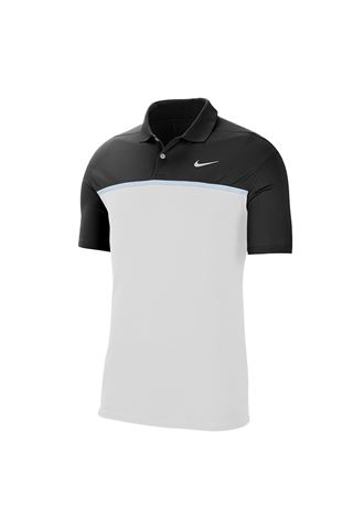 Picture of Nike Golf ZNS Dri-FIT Victory Colour Block Polo Shirt - Black 010
