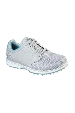 Picture of Skechers Women's Go Golf Elite 3 Grand Golf Shoes - Relaxed Fit - Grey / Mint