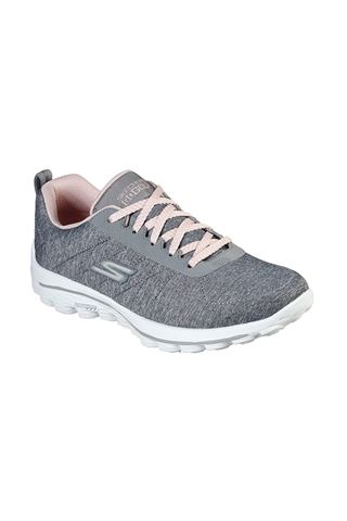 Picture of Skechers Women's Go Walk Sport Golf Shoes - Grey / Pink