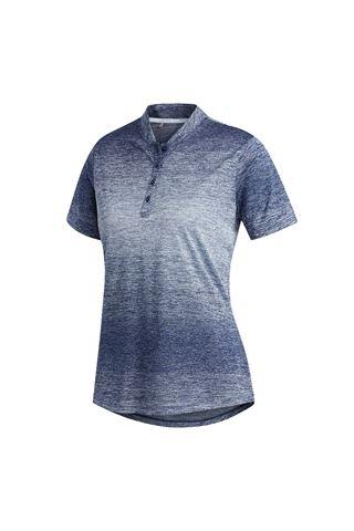 Picture of adidas zns Gradient Novelty Short Sleeve Polo Shirt - Sky / Tech Indigo