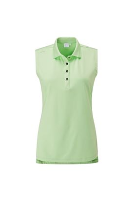 Show details for Ping Ladies Solene Sleeveless Polo Shirt - Mint