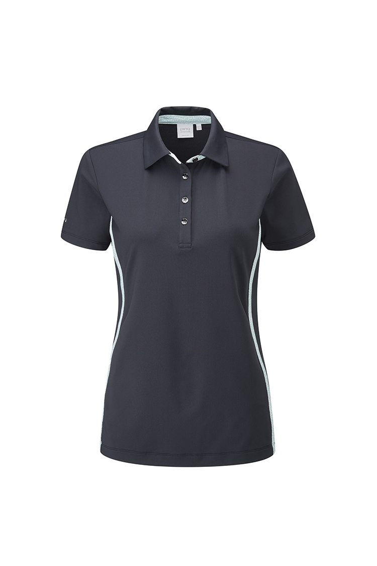 Picture of Ping Juniper Ladies Polo Shirt - Navy