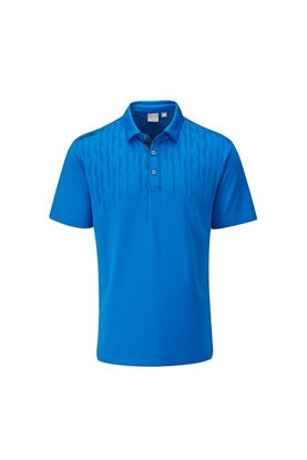 Show details for Ping Carbon Men's Golf Polo Shirt - Snorkel Blue