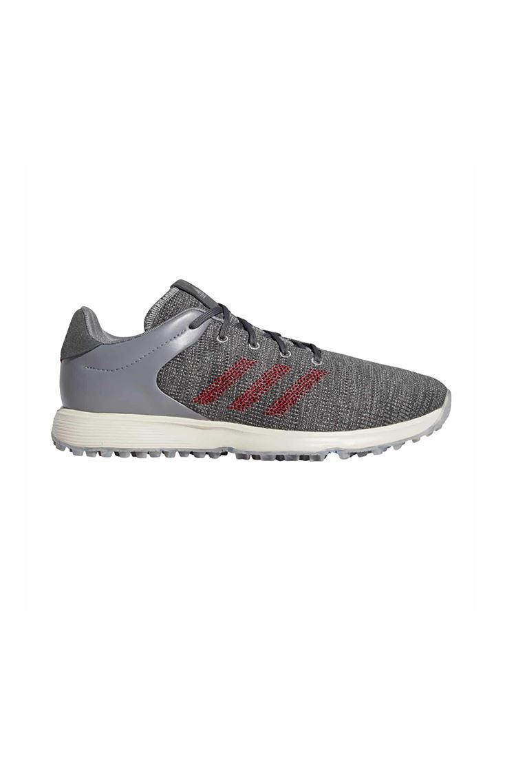 Picture of adidas Men's S2G Golf Shoes  - Grey Three / Collegiate Burgundy / Grey Six