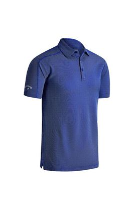Show details for Callaway Box Jaquard Polo Shirt - Surf the Web