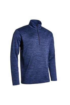 Show details for Abacus Men's Fortrose Half Zip Top - Navy